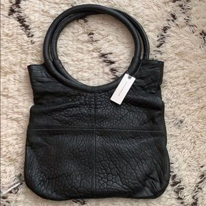 Leather Anthropologie bag
